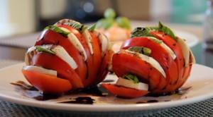 Salada Caprese Elegante